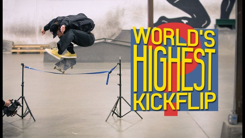 Did Jake Hayes Just Do The World's Highest Kickflip
