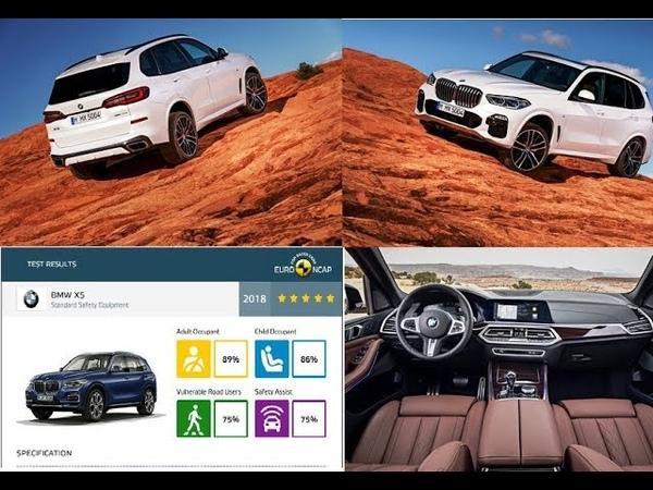 2019 BMW X5 Tanıtım videosu Euroncap çarpışma testi ve sonuçları ★★★★★