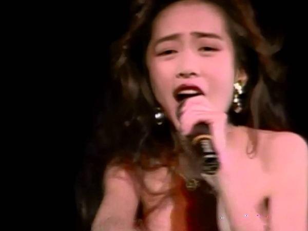 工藤静香LIVE1989「哀しみのエトランゼ」「禁断のテレパシー」「嵐の夜の12475