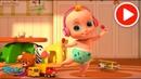 Давайте танцевать - Малыш Джони! Johny Johny - Looby Loo | LooLoo Kids Songs