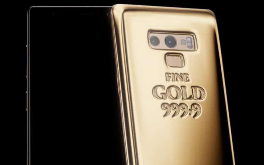 Samsung Galaxy Note 9 в килограмме золота, или новинка от Caviar
