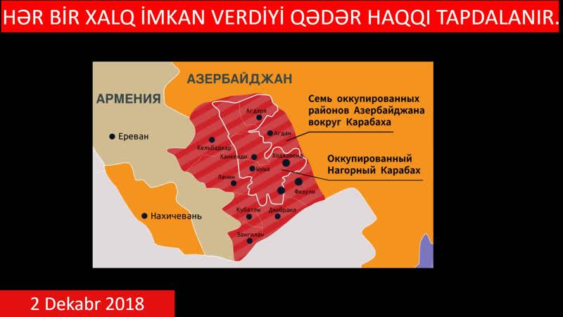 2 Dekabr 2018: Azərbaycan yenidən qurulmalıdır! - BİRLİK ÜÇÜN ADDIMLAYIRIQ! - Canlı yayım