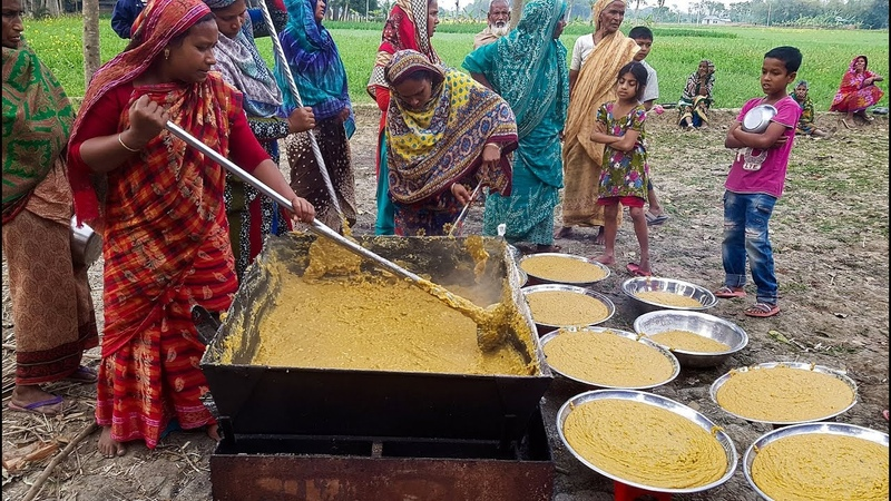 Unique Process Of Making Sweets From Chickpea - Did You Ever Get The Taste Of Bengal Gram Sweet