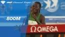 Francine Niyonsaba 1 57 90 Wins Women's 800m IAAF Diamond League Rabat 2018