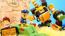 Hazine bulma oyunu Paw Patrol ve Tobot T oyuncakları