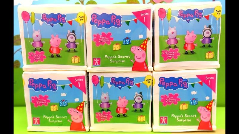 La sorpresa secreta de Peppa Cubo Con Sorpresas De Peppa Pig Nuevos juguetes Peppa Pig