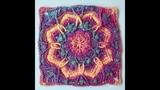 Crochet Octagram kaleidoscope Block