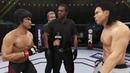 Bruce Lee vs. Bolo Yeung EA Sports UFC 3 - CPU vs. CPU