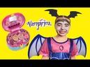 Junior Vampirina makeup and dress up for kids