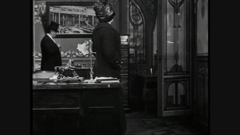 ТРЕСТ, ИЛИ БОРЬБА ЗА БОГАТСТВО (1911) - детектив. Луи Фейад 1080p