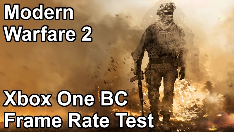Modern Warfare 2 Xbox One X vs Xbox One vs Xbox 360 Backwards Compatibility Frame Rate Comparison