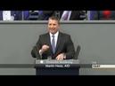 Geschrei im Bundestag als Martin Hess AfD den Altparteien die Hand reichet 27 06 2019