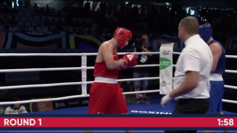 Казахстанский супертяж за 2 минуты избил и нокаутировал американца