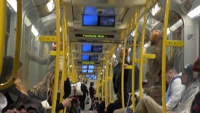 Berlin U-Bahn ( During a Turn )