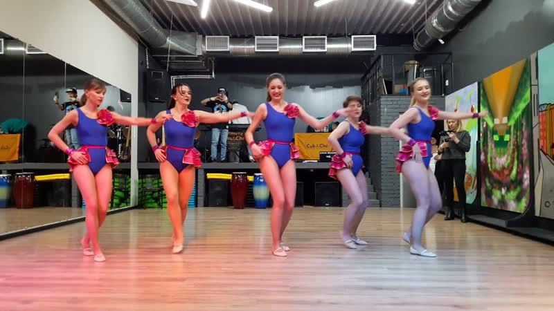 Реггетон, школа танцев ArmeyCasaChe, CubACheWinter 2018