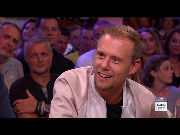Humberto krijgt zijn revanche op Armin van Buuren RTL LATE NIGHT