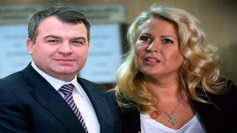 Сердюков иВасильева поженились