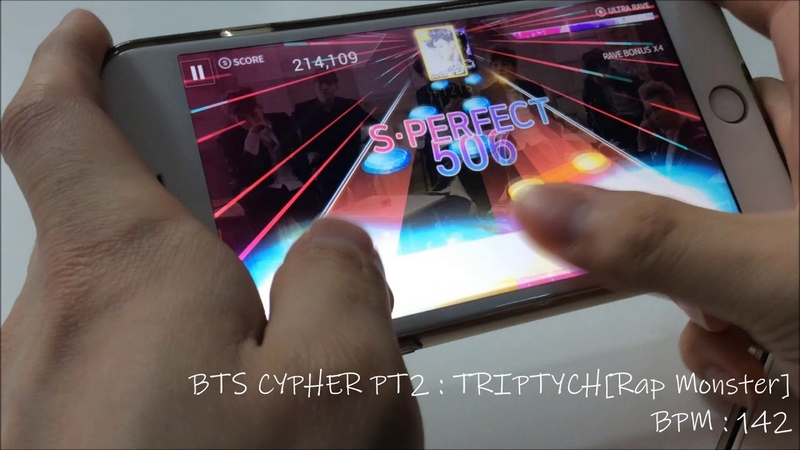 [SuperStar BTS] BTS Cypher PT.2 : TRIPTYCH (Thumb Play) - 웅차(WoongCha)