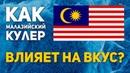 Как малазийский кулер влияет на вкус