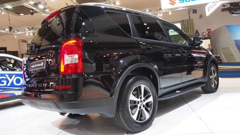 SsangYong Rexton e-XDi220 Diesel 7AT 4WD Executive - Exterior and Interior Lookaround