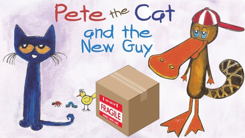 Pete the Cat and the New Guy   Read Aloud