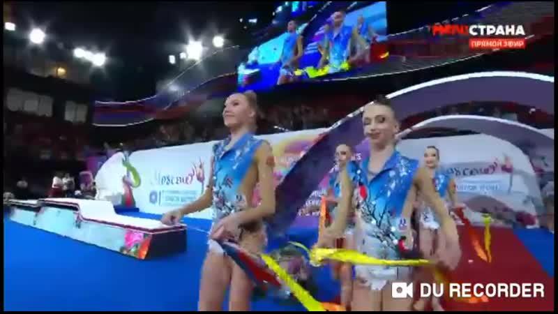 Юниорское Групповое 5 Лент l Юниорский Чемпионат Мира 2019