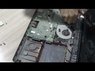 Разбор ноутбука Asus x551ca ( x551ca-sx138h)