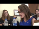Alyssa Milano Testifies on the ERA Speaks with Rep Carolyn Maloney