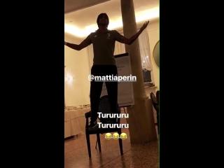 Mattia Perin si butta su un classico