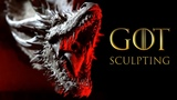 Sculpting a Dragon from Game of Thrones