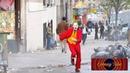 Joker 2019 Joaquin Phoenix movie chasing scene production
