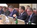 Виступ Степана Полторака щодо держбюджету 2019 на засіданні Кабінету Міністрів