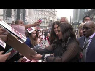 8 подруг Оушена - лучшие моменты Европейской премьеры фильма