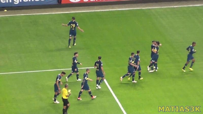 Boca Cruzeiro Lib18 / Gol de Mauro Zarate