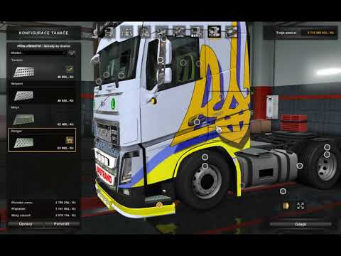 [ETS2]Euro Truck Simulator 2 Top 5 Tucks Mod Part II