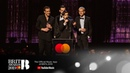 The 1975 win Mastercard British Album of the Year | The BRIT Awards 2019