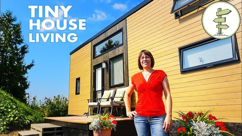 Mother and Daughter Living in a Tiny House to Achieve Financial Freedom - Tour Interview