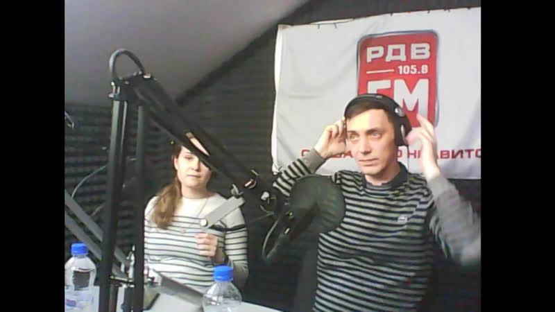 В гостях Ксения Чикулаева- создатель Академии танца и Сергей Афанасьев - хореограф направлений Сальса и Бачата