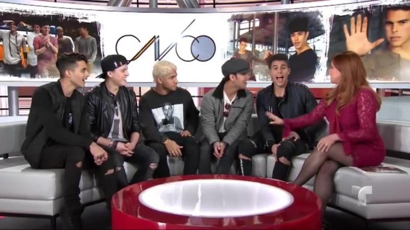 CNCO celebra el éxito de su video musical Mamita ¦ Al Rojo Vivo ¦ Telemundo