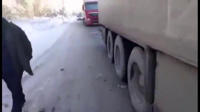 ЖЕСТЬ Авария на трассе Челябинск Фуры в хлам