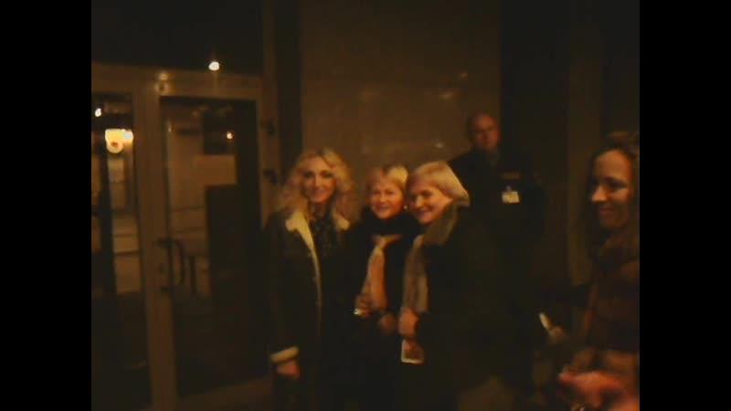 Кристина Орбакайте в Минске после канцерта