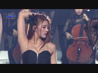 [181228] Lovelyz - Intro + That Day + Lost N Found @ «Gayo Daechukje»