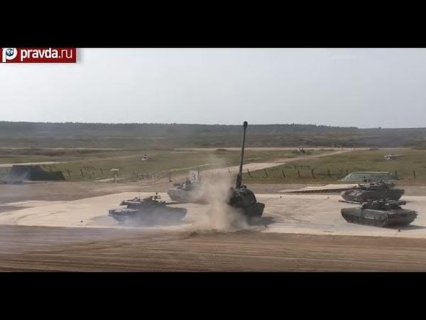 Маневренность Т-80 и МСТА-С: полигон АЛАБИНО