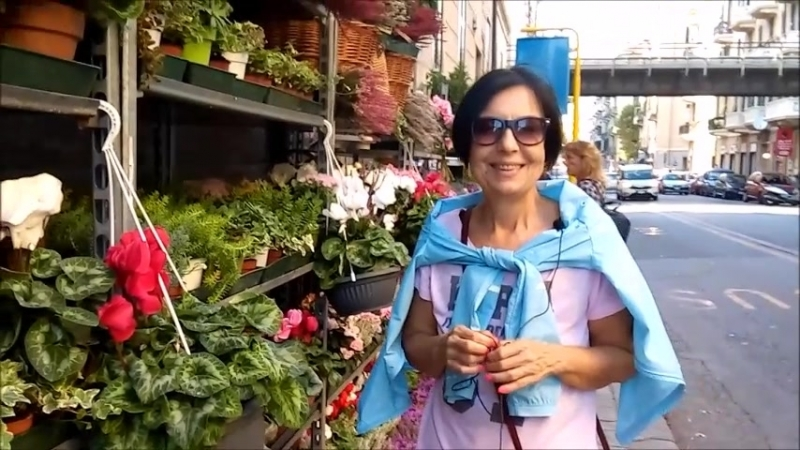 Negozio di fiori - магазин цветов