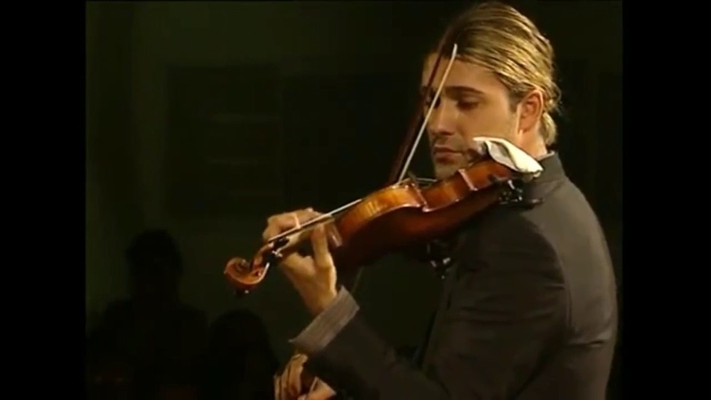 David Garrett BACH Concerto N°2 E Major 1042 II mov Adagio
