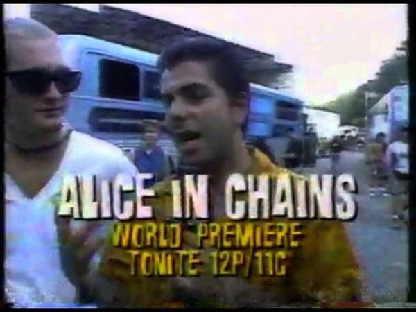 Headbanger's Ball Alice in Chains at Lollapalooza 93 in NJ