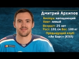 Новички 2018: Дмитрий Архипов