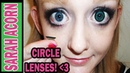 How to Insert Circle Lenses for Beginners Motivation!