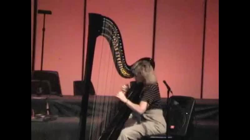 Lori Andrews jazz harp Sugar featuring Eric Marienthal