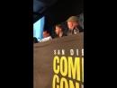 SDCC2018 Джастин Бринер американский сейю Изуку просто любит своего героя